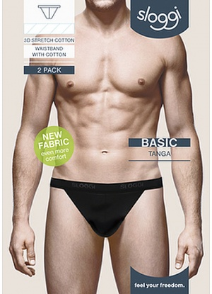 Sloggi Men Basic Tanga 2pk