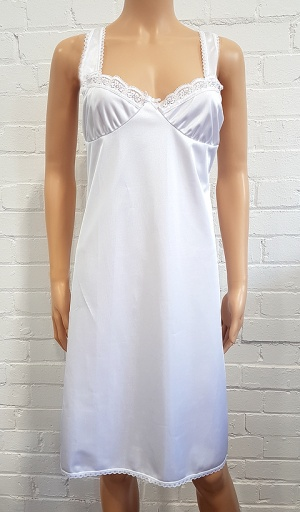 Wide Strap Polyester Full Slip