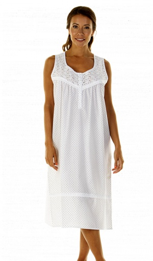 La Marquise Cornwall Sleeveless Nightdress