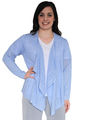 Casamia Pattern Knit Waterfall Cardigan