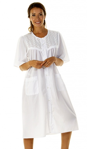 La Marquise Cornwall Button Through Nightdress