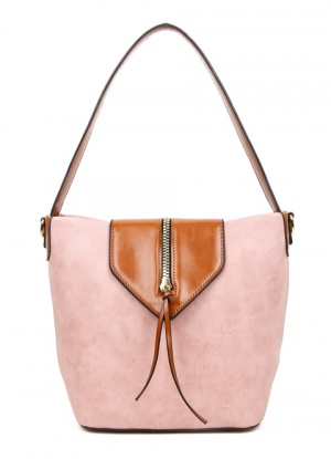 Superbia Pink Shopper Bag