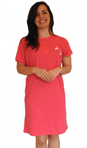 Pure Cotton Jersey Nightshirt