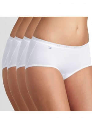 Sloggi 4 pack Basic Midi Briefs