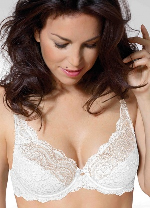 Playtex Flower Lace Underwire Bra