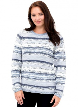 MudFlower Multi Knit Stripe Jumper