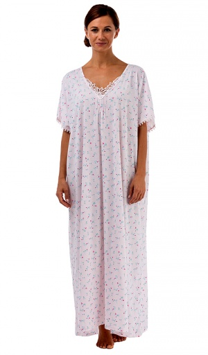 La Marquise Ditsy Floral Full Length Nightdress