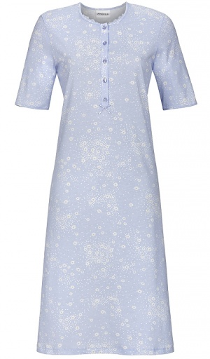 Ringella Short Sleeve Pure Cotton Daisy Nightdress