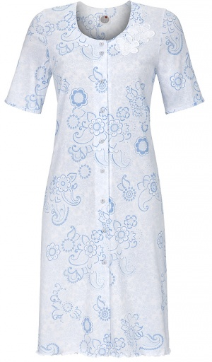 Ringella Cotton Modal Button Through Nightshirt