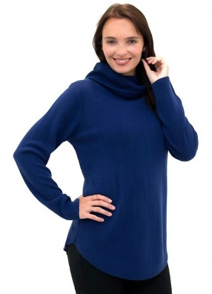 MudFlower Soft Knit Cowl Neck Jumper