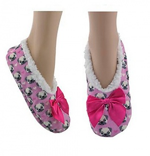 Co-Zees Ladies Animal Slippers