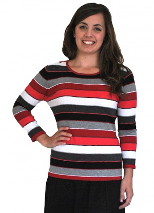 Claudia C Stripe Jumper