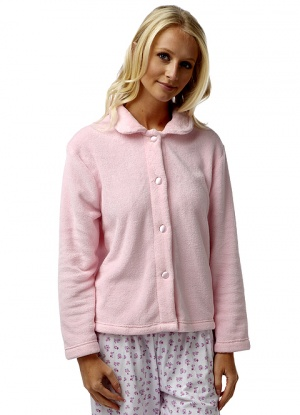 Marlon Soft And Cosy Fleece Bed Jacket