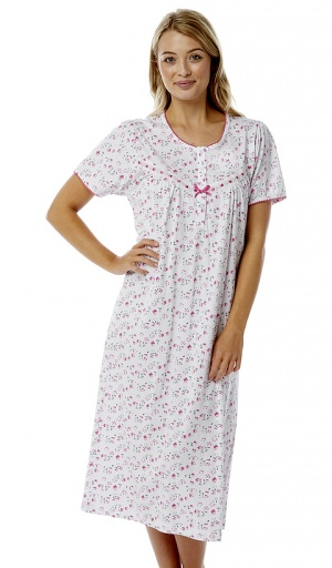 Marlon Short Sleeve Jersey Cotton Nightdress
