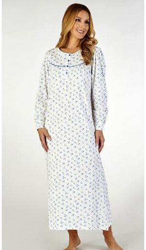 Slenderella Jersey Pure Cotton Long length Nightdress