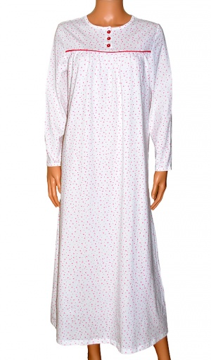Slenderella Pure Jersey Cotton Long length Nightdress