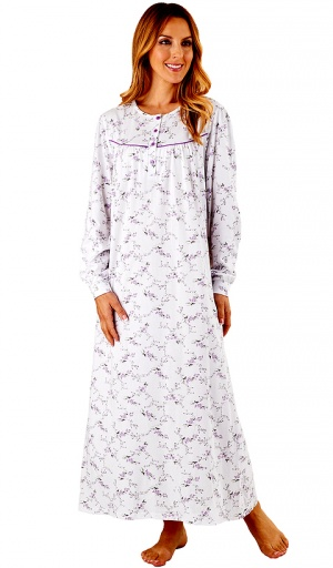 Slenderella 100% Jersey Cotton Long length Nightdress