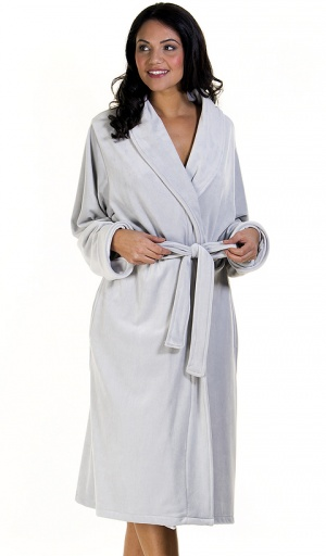 La Marquise Plush Velour Robe