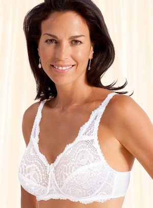 Playtex Flower Lace Soft Cup Bra