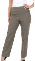 Half Elasticated Stretch 29'' Flannel Trouser