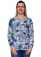 Long Sleeve Patterned Jumper