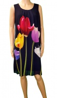 Florri Sleeveless Tulip Dress