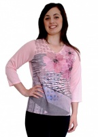 Casamia V Neck Beaded Floral Jumper