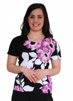 Casamia Short Sleeve Floral Jumper