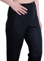 Elasticated Waist Linen Trouser