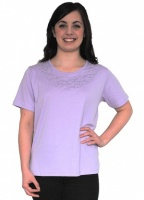 Casamia Round Neck Embroidered Top