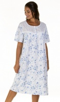 La Marquise Versailles Floral Short Sleeve Nightdress