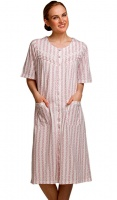 La Marquise Button Through Floral Nightdress