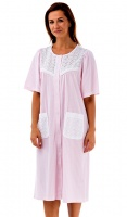 La Marquise Cotton Rich Button Through Nightdress