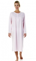 La Marquise Polyester Embroidered Nightdress