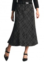 Saloos 8 Panel Boucle Skirt