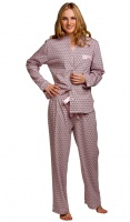 La Marquise Cotton Rich Button Jacketed Pyjama