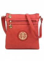 Superbia Zip Front Cross Body Bag