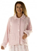 La Marquise Fleurette Super Soft  Bed Jacket