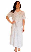 Long Length Pure Cotton Nightdress