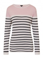 Emreco Stripe and Block Colour Jumper