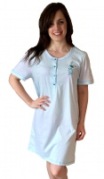 Pure Cotton Short Sleeve Nightshirt