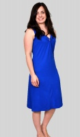 Ringella Sleeveless Jersey Blue Dress