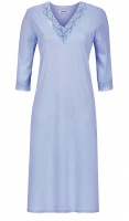 Ringella 3/4 Sleeve V Neck Nightdress