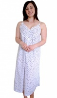Cottonreal Strappy Floral Nightdress