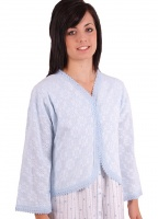 Lux Lux Floral Knitted Bed Jacket