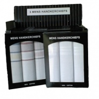 Box of 3 Mens Hankies