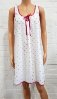 Cottonreal Bubble Polka dot Sweetheart Chemise