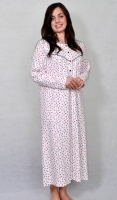 Long Length Pure Interlock Cotton Nightdress