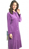 Taubert Luxury Cotton Rich Velour Housecoat