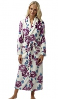 Marlon Floral Fleece Wrap